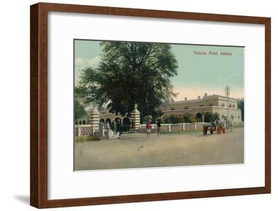 'Victoria Hotel Ambala', c1900-Unknown-Framed Giclee Print