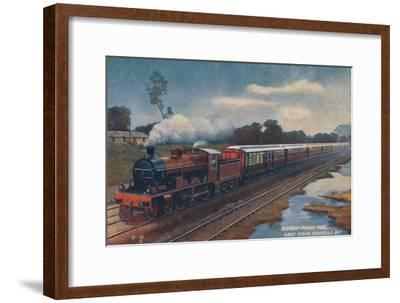 'Bombay-Poona Mail, Great Indian Peninsula Railway', c1900-Unknown-Framed Giclee Print