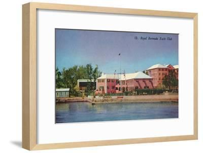 'Royal Bermuda Yacht Club', c1930-Unknown-Framed Giclee Print