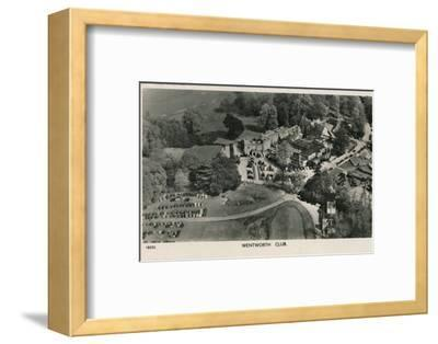 'Wentworth Club', c1940-Unknown-Framed Photographic Print