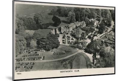 'Wentworth Club', c1940-Unknown-Mounted Photographic Print