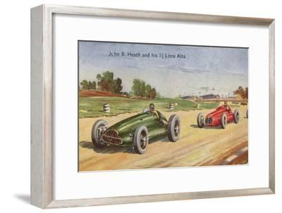'John B. Heath and his 1 1/2 Litre Alta', c1953-Unknown-Framed Giclee Print
