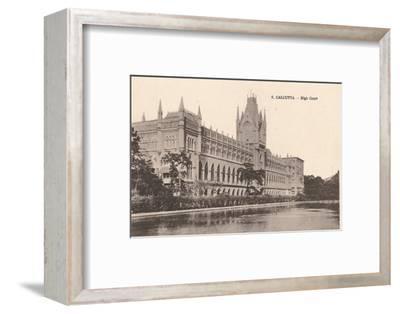 'Calcutta - High Court', c1900-Unknown-Framed Photographic Print