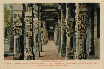 'Pirthi Raj Temple, Delhi', c1900-Unknown-Framed Giclee Print