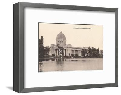 'Calcutta - General Post-Office', c1900-Unknown-Framed Photographic Print