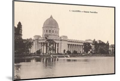 'Calcutta - General Post-Office', c1900-Unknown-Mounted Photographic Print