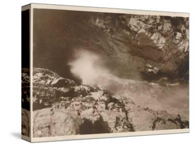'The Devil's Bellows, Kynance Cove', 1927-Unknown-Stretched Canvas Print