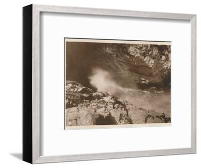 'The Devil's Bellows, Kynance Cove', 1927-Unknown-Framed Photographic Print