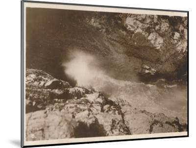 'The Devil's Bellows, Kynance Cove', 1927-Unknown-Mounted Photographic Print