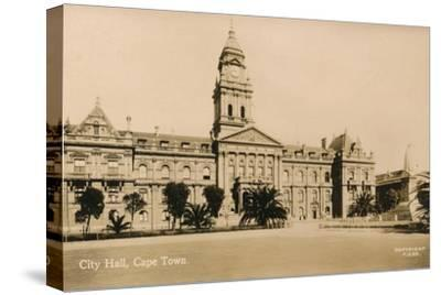 'City Hall, Cape Town', c1933-Unknown-Stretched Canvas Print