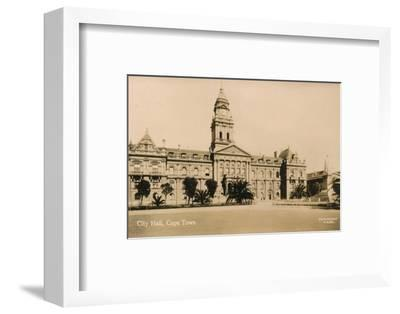 'City Hall, Cape Town', c1933-Unknown-Framed Photographic Print