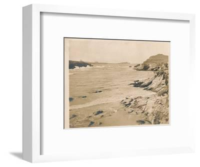 'Newquay from Porth', 1927-Unknown-Framed Photographic Print