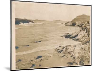 'Newquay from Porth', 1927-Unknown-Mounted Photographic Print