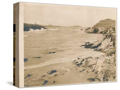 'Newquay from Porth', 1927-Unknown-Stretched Canvas Print