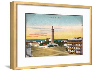 'Phare de Port-Said', c1900-Unknown-Framed Giclee Print