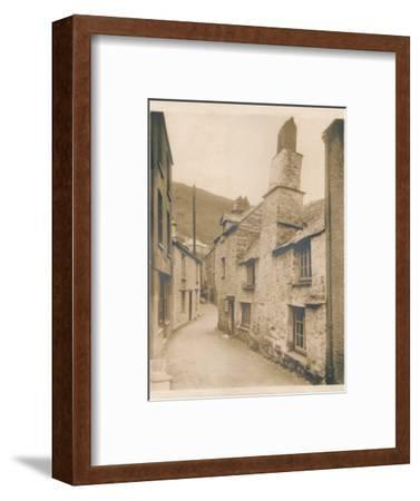 'Couch's House - Polperro', 1927-Unknown-Framed Photographic Print
