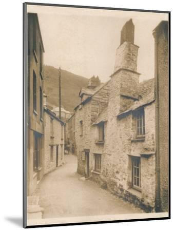 'Couch's House - Polperro', 1927-Unknown-Mounted Photographic Print