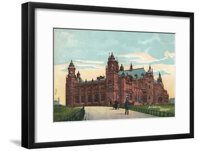 'Art Galleries, Glasgow', c1904-Unknown-Framed Giclee Print