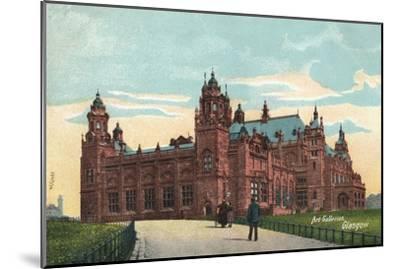 'Art Galleries, Glasgow', c1904-Unknown-Mounted Giclee Print