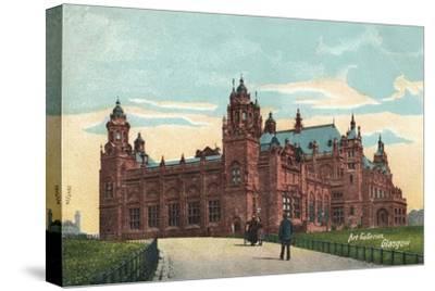 'Art Galleries, Glasgow', c1904-Unknown-Stretched Canvas Print