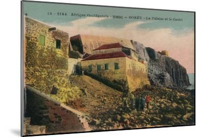 'Afrique Occidentale -Senegal - Gorée - La Falasise et le Castel', c1900-Unknown-Mounted Giclee Print