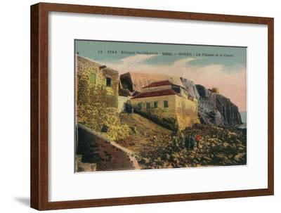'Afrique Occidentale -Senegal - Gorée - La Falasise et le Castel', c1900-Unknown-Framed Giclee Print