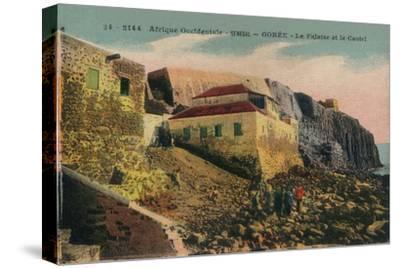 'Afrique Occidentale -Senegal - Gorée - La Falasise et le Castel', c1900-Unknown-Stretched Canvas Print