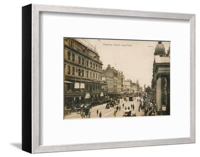 'Adderley Street, Cape Town', c1900-Unknown-Framed Photographic Print