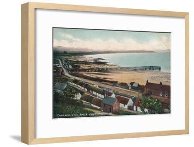 'Campbelltown Bay & Jetty Ardersier', c1930-Unknown-Framed Giclee Print
