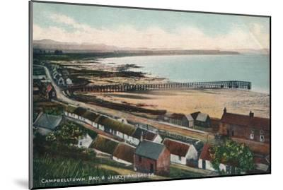 'Campbelltown Bay & Jetty Ardersier', c1930-Unknown-Mounted Giclee Print