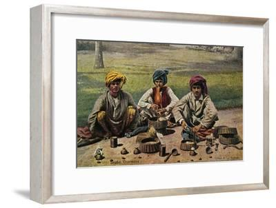 'Snake Charmers', c1910-Unknown-Framed Giclee Print