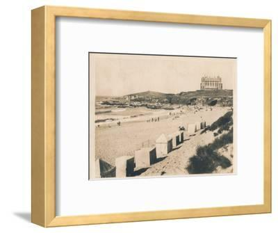 'Fistral Beach - Newquay', 1927-Unknown-Framed Photographic Print