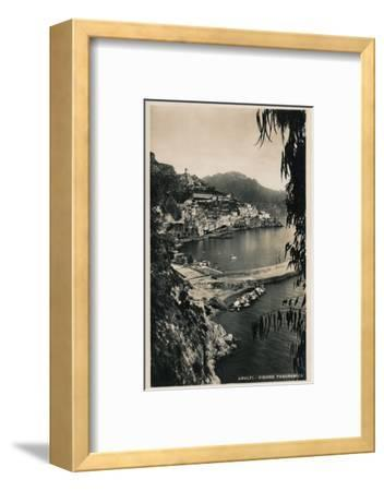'Amalfi - Visione Panoramica', c1910-Unknown-Framed Photographic Print