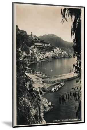 'Amalfi - Visione Panoramica', c1910-Unknown-Mounted Photographic Print