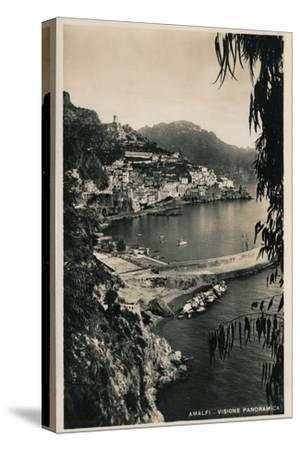 'Amalfi - Visione Panoramica', c1910-Unknown-Stretched Canvas Print