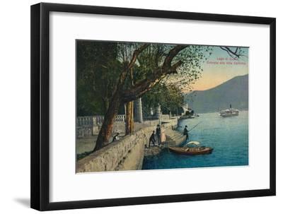'Lago di Como. Entrata alla Villa Carlotta', c1888-Unknown-Framed Giclee Print