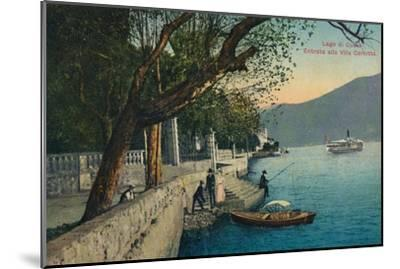'Lago di Como. Entrata alla Villa Carlotta', c1888-Unknown-Mounted Giclee Print
