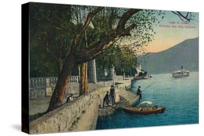 'Lago di Como. Entrata alla Villa Carlotta', c1888-Unknown-Stretched Canvas Print