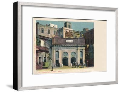 'Victoria Gate, Valletta - Malta', c1900-Unknown-Framed Giclee Print