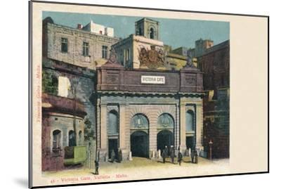 'Victoria Gate, Valletta - Malta', c1900-Unknown-Mounted Giclee Print