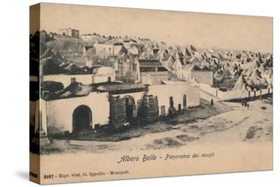 'Albero Bello - Panorama dei Monti', c1910-Unknown-Stretched Canvas Print
