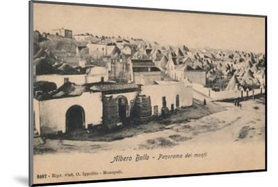'Albero Bello - Panorama dei Monti', c1910-Unknown-Mounted Photographic Print