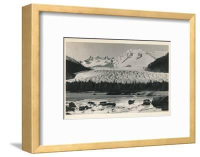 'Mendenhall Glacier near Juneau, Alaska', c1940-Unknown-Framed Photographic Print