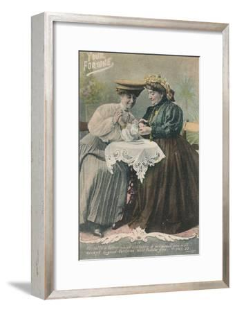 Your Fortune - Fortells a letter which contains a proposal-Unknown-Framed Giclee Print
