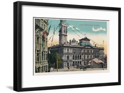 'Lands Department Sydney', c1910-Unknown-Framed Giclee Print
