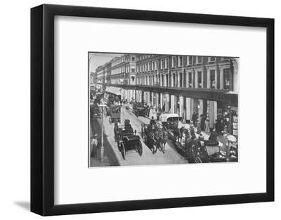 In Westbourne Grove, Notting Hill, London, c1903 (1903)-Unknown-Framed Photographic Print