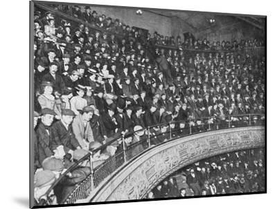 A music hall gallery, London, c1900 (1901)-Unknown-Mounted Photographic Print
