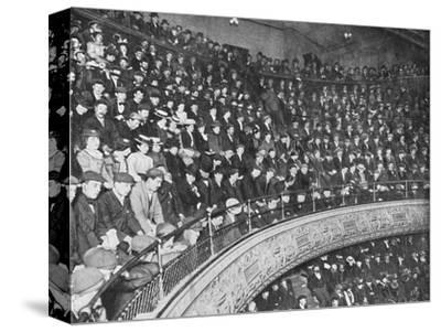 A music hall gallery, London, c1900 (1901)-Unknown-Stretched Canvas Print