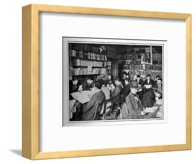 The Free Russian Library and reading room, 15 Whitechapel Road, Stepney, London, c1901-Unknown-Framed Photographic Print