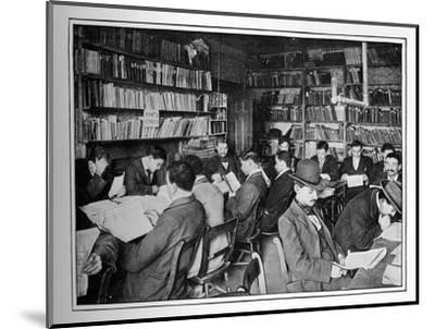 The Free Russian Library and reading room, 15 Whitechapel Road, Stepney, London, c1901-Unknown-Mounted Photographic Print